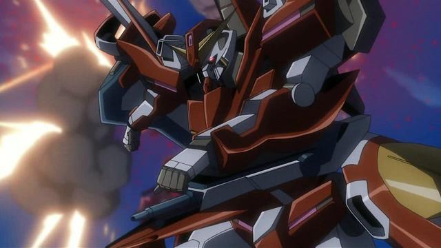 File:Gundam Throne Zwei aiming its GN HandGun.png