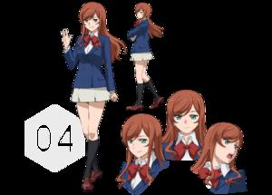 Mirai Kamiki Character Sheet