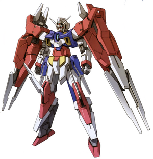 AGE-2DC Gundam AGE-2 Double Blade Front