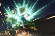 Full Armor 0 Gundam Battle