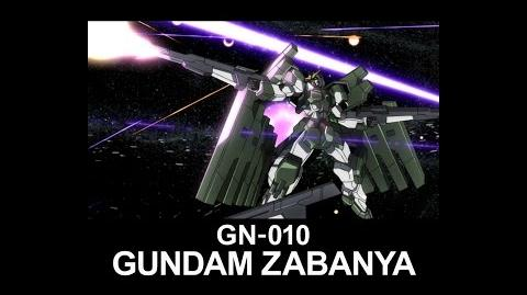 MS0W02 GUNDAM ZABANYA (from Mobile Suit Gundam 00 Theatrical Edition)
