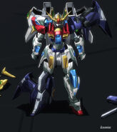 TBG-011B Try Burning Gundam Repaired