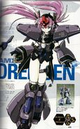 AMX-009 Dreissen - MS Girl