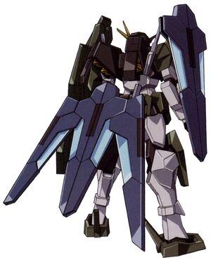 GN-006GNHW-R - Cherudim Gundam GNHW-R - Back View