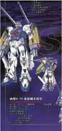 F90S Gundam F90 Support Type - Specifications and Design