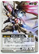 ZGMF-X42S - Destiny Gundam - Gundam War Card