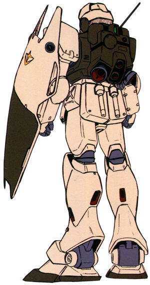 RGM-79G(GM COMMAND) back