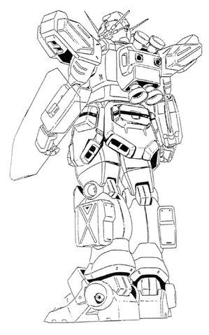 File:XXXG-01H2 Gundam Heavyarms Custom Back View Lineart.jpg
