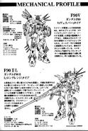 F90V Gundam & F90II-L Gundam info