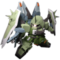 Unit cr blaze zaku phantom