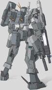 GN-006SA Cherudim Gundam SAGA Rear