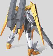 GN-007GNHW Arios Gundam Rear