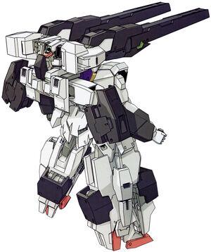 Raphael Gundam Dominions Rear