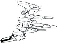 Lightning Back Weapon System Mk-II BW bottom view