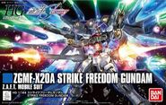 HGCE Strike Freedom Gundam Revive