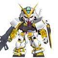 Unit b astray gold frame
