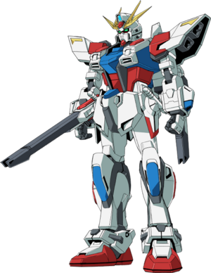 GAT-X105BST Star Build Strike Gundam - Front