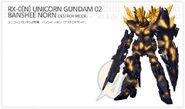 RX-0(N) Unicorn Gundam Banshee Norn NT-D
