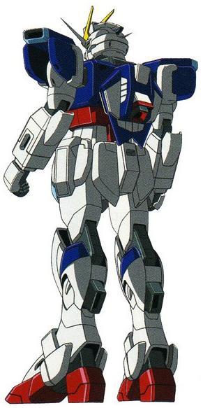 ZGMF-X56S Impulse Gundam - Back View