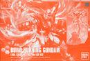 Build Burning Gundam Full Color Plating