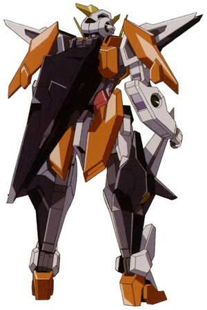 GN-003 - Gundam Kyrios - Back View