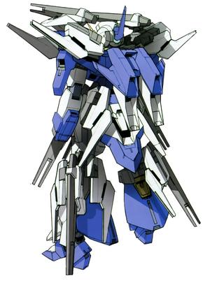 AGE-FX Gundam AGE-FX -A-Funnel Equipment Type- rear