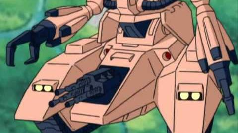 316 MS-06V Zaku Tank (from Mobile Suit Zeta Gundam)