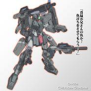 Cherudim Gundam SAGA Kanji Wallpaper