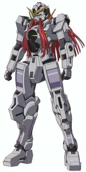 GN-004 - Gundam Nadleeh - Front View