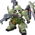 Unit c gunner zaku warrior