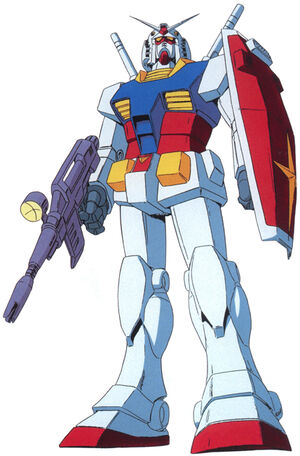 Front (w/Beam Rifle and Shield)