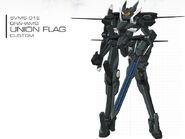 Graham Aker Union Flag Custom with Trident Striker