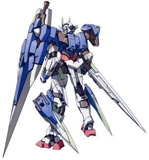 00 7s Gundam Rear