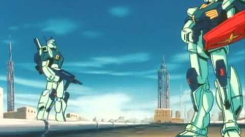 409 RGM-86R GM III (from Mobile Suit Gundam ZZ)