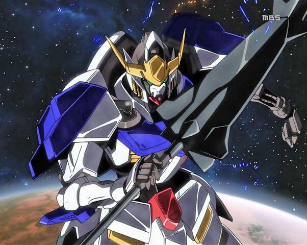 File:Gundam Barbatos in space.jpg