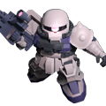 Unit cs zaku ii f2 eff colors