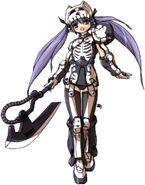 Dokuro Type Zaku - MS Girl