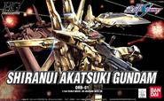 HG Shiranui Akatsuki Gundam Cover