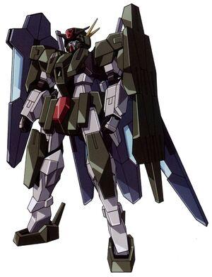 GN-006GNHW-R - Cherudim Gundam GNHW-R - Front View