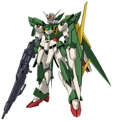 File:Wing Gundam Fenice Rinascita - MS Mode Front.png