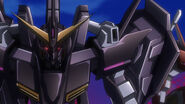 Gundam Throne Eins Head View