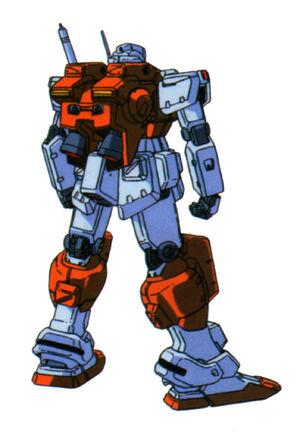 RGM-79(POWERED GM) back