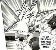 Mantis gundam attack