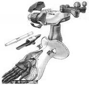 AMX-004 Qubeley Arm Cut Away