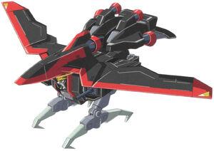 GAT-X370 Raider Gundam Flight Mode
