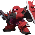 Unit br gunner zaku warrior lunamaria hawke colors