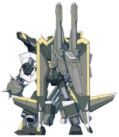 File:GAT-X370G Gelb Raider Gundam (Rear).png