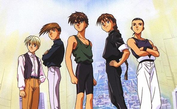 File:Gundam Wing Pilots.jpg