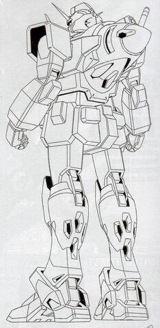 File:GN-000 - 0 Gundam - Back View Lineart.jpg