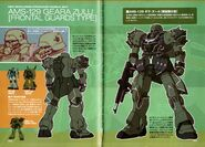 AMS-129 Geara Zulu (Frontal Guards Type) - TechDetailDesign